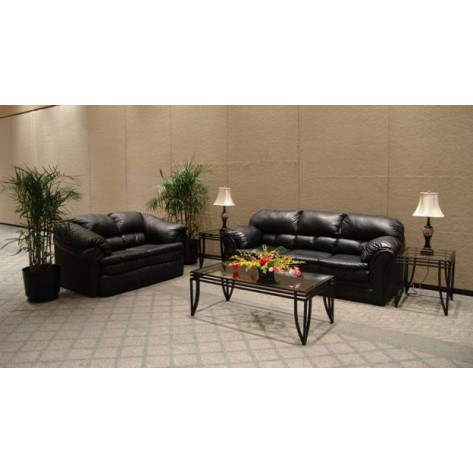 Traditional Black Vinyl Furniture - SF52