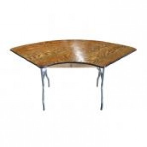 "7' x 30"" Serpentine Banquet Table"