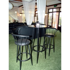 Black Bistro Tables - SF76 -  (Qty: 10+ )