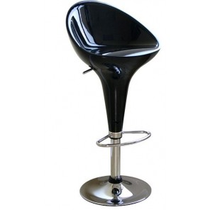 Black Kappa Bar Stool