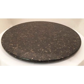 "Granite Lazy Susan - 30"" - C020"