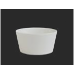 Round White China Bowl - C010