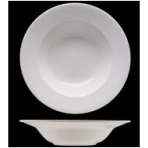 White China Belly Bowl - C012