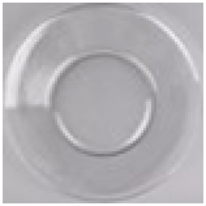 "8"" Clear Plate - C013"