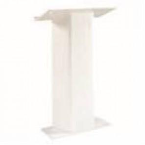 White Acrylic Podium- CE50