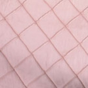 Dusty Pink Pintuck Taffeta