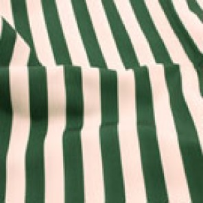 Forest Green and White Cabana - LPR70