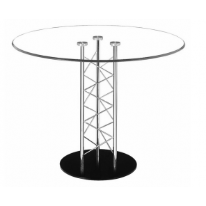 Seated Glass Cocktail Table - SF47 - (Qty: 5+)