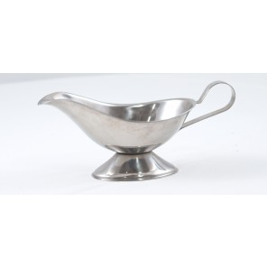 Stainless Steel Gravy Boat - CE93 (QTY: 185+)