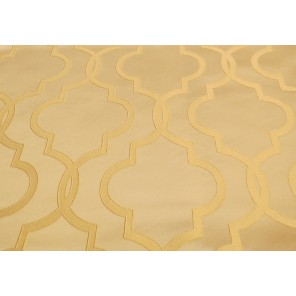 "Antique Gold Geometric Print - 102"" Square - LPR108 (Qty: 11+)"
