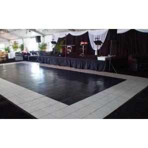 Black & White Dance Floor - LD12
