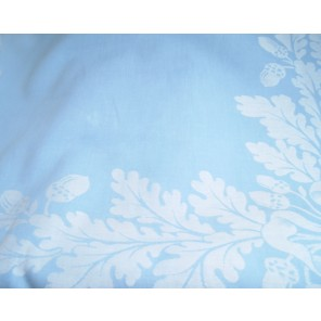 Light Blue Acorn with Bow Cottons - LCT23