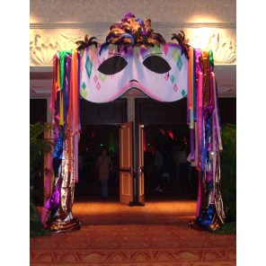 Mardi Gras/Carnivale Mask Entryway - PR11