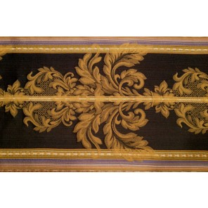 "Navy Blue and White 15"" x 90"" Runner - LDM35"