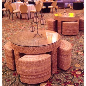 Willow Table and Stools - SF55