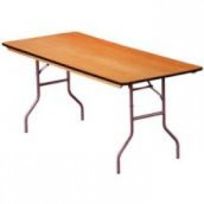 "6' x 30"" Rectangular Banquet Table"
