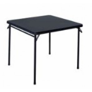 "33"" x 33"" Folding Card Table"