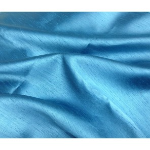 Turquoise Silk Shantung - LSK24