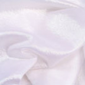 """White Sparkle Organza Sash - 14""""x 100"""" - CTS48 (Qty: 190+)"""
